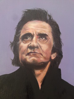 Johnny Cash by A K Smith